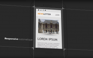 newsletter responsive design